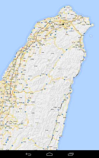 台灣離線地圖