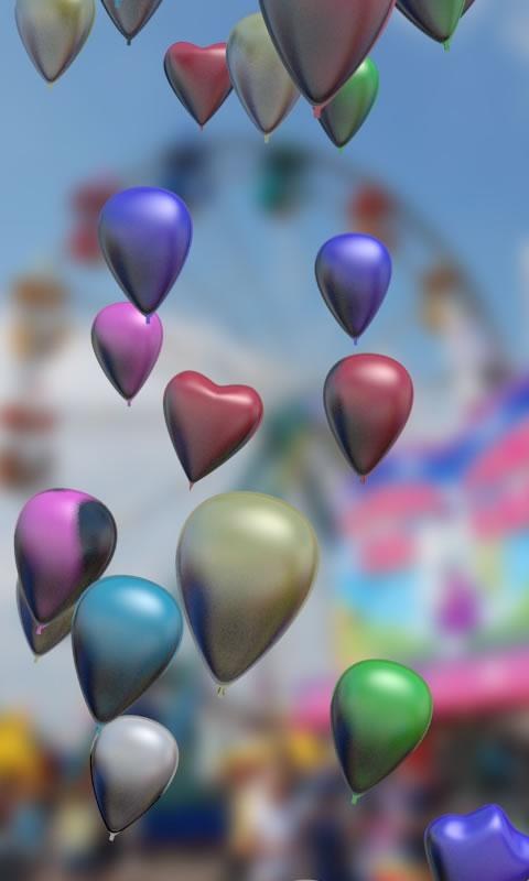 Baloons live wallpaper- screenshot