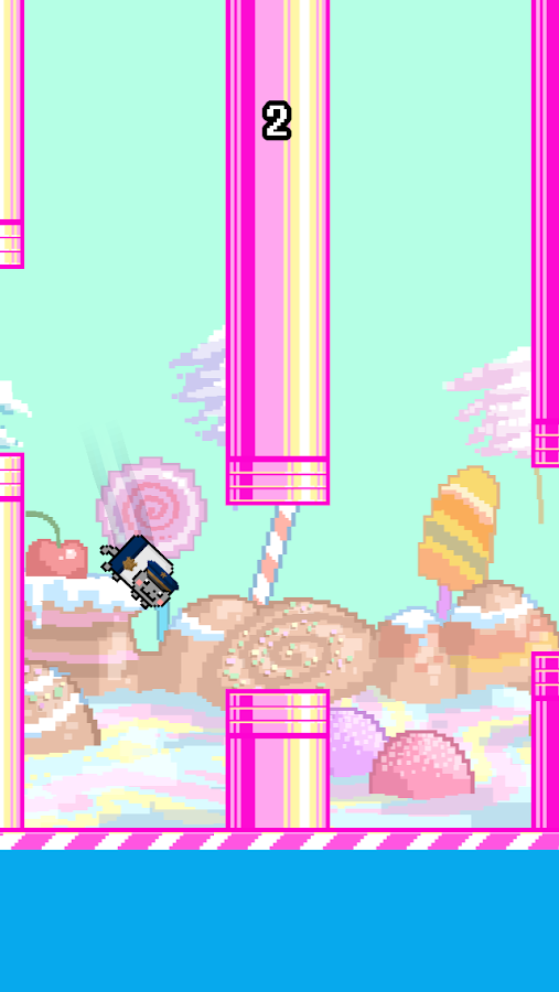 Flappy Nyan - screenshot