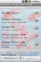 Screenshot of Rose Live Wallpaper