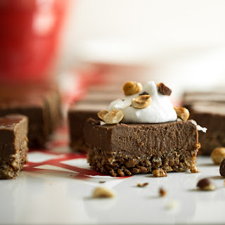Double Chocolate Crispy Frozen Dessert Bars