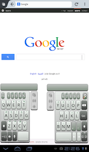 A.I.type Tablet Keyboard Free- screenshot thumbnail