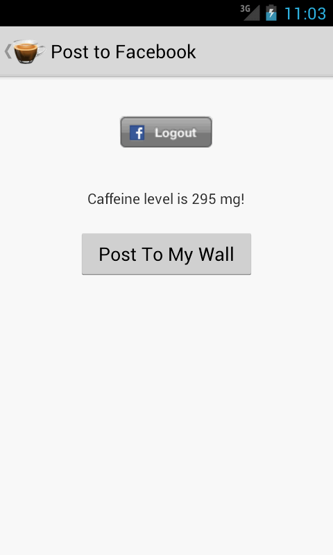 Caffeine Tracker Lite - screenshot