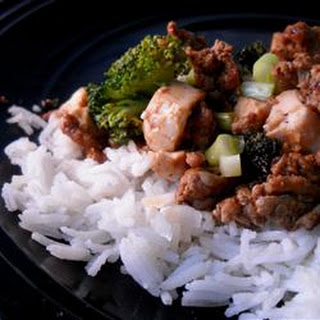 Chinese Style Ground Pork and Tofu