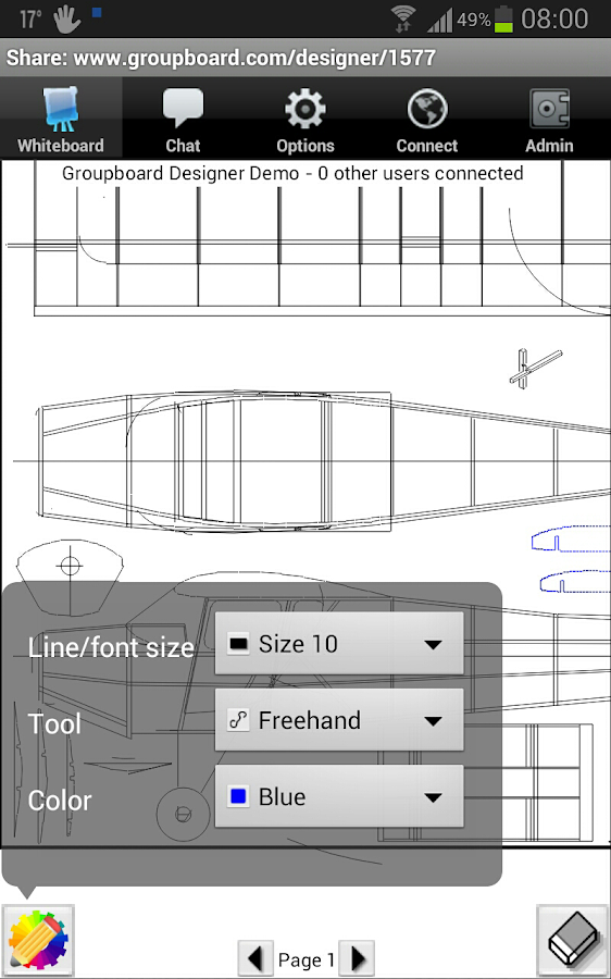 Groupboard - screenshot