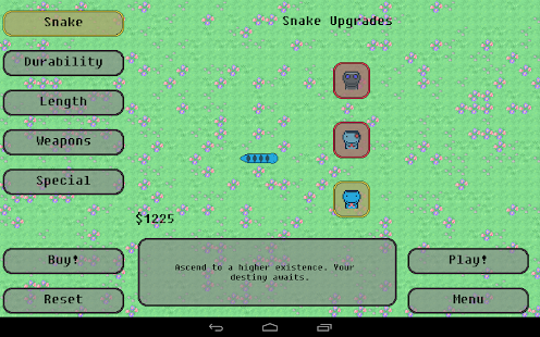 Steve: Snake Evolved (Free)- screenshot thumbnail