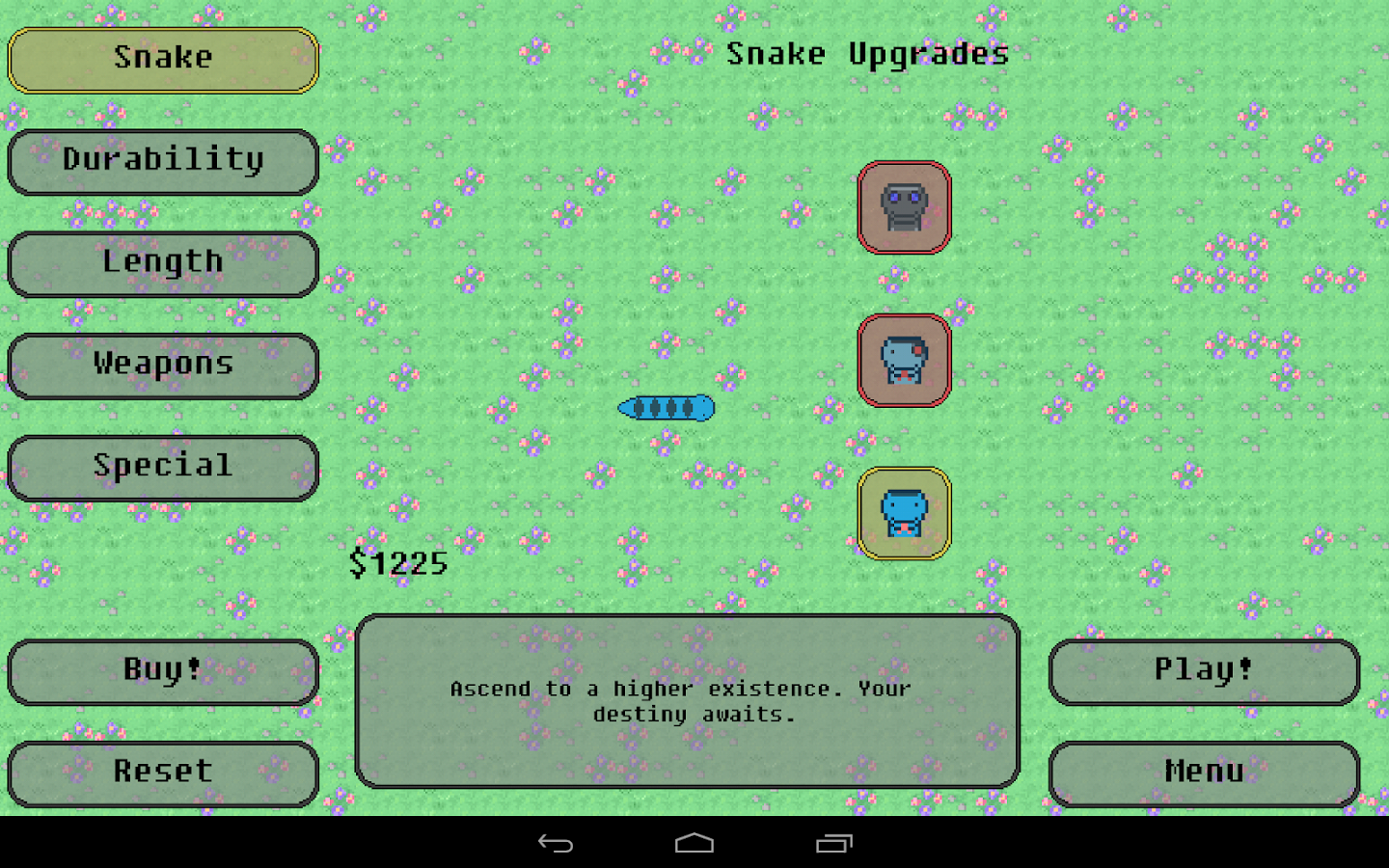 Steve: Snake Evolved (Free)- screenshot