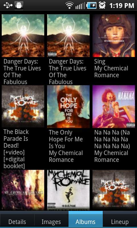 Concert Finder (Ad Supported)- screenshot