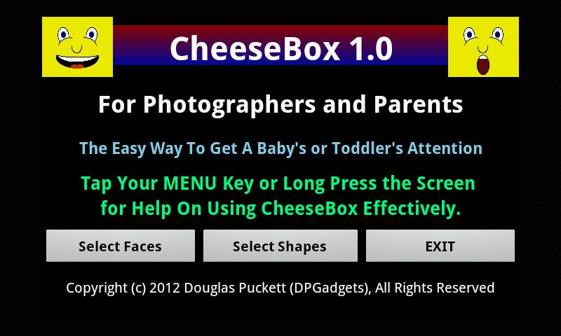 CheeseBox- screenshot