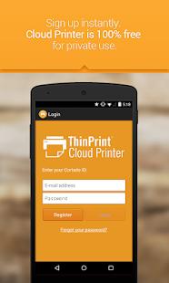 ThinPrint Cloud Printer - screenshot thumbnail