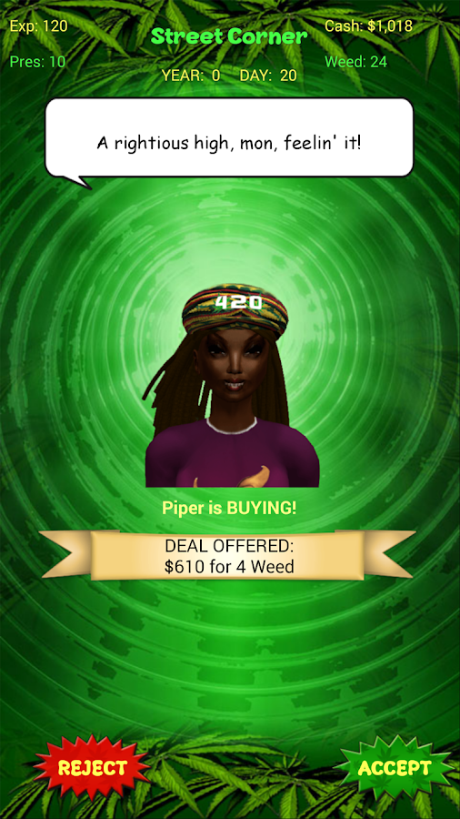 Weed Farm Dealer- screenshot