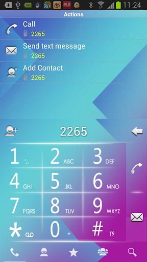 【免費通訊App】RocketDial BlueWhite Theme-APP點子