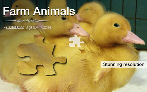 Farm Animal Jigsaws Demo