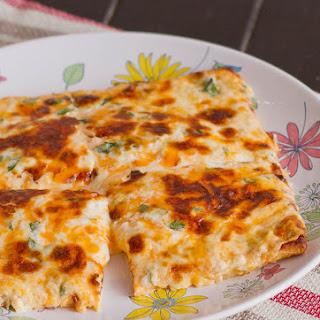 Cheesy Flat Breads.