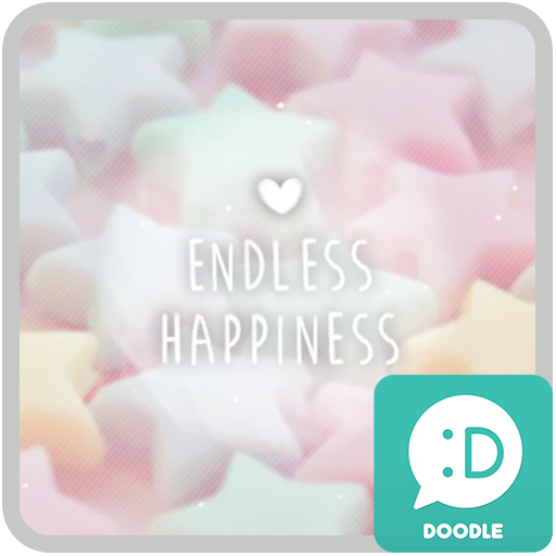 endless happiness 카카오톡 테마 app (apk) free download for Android/PC/Windows