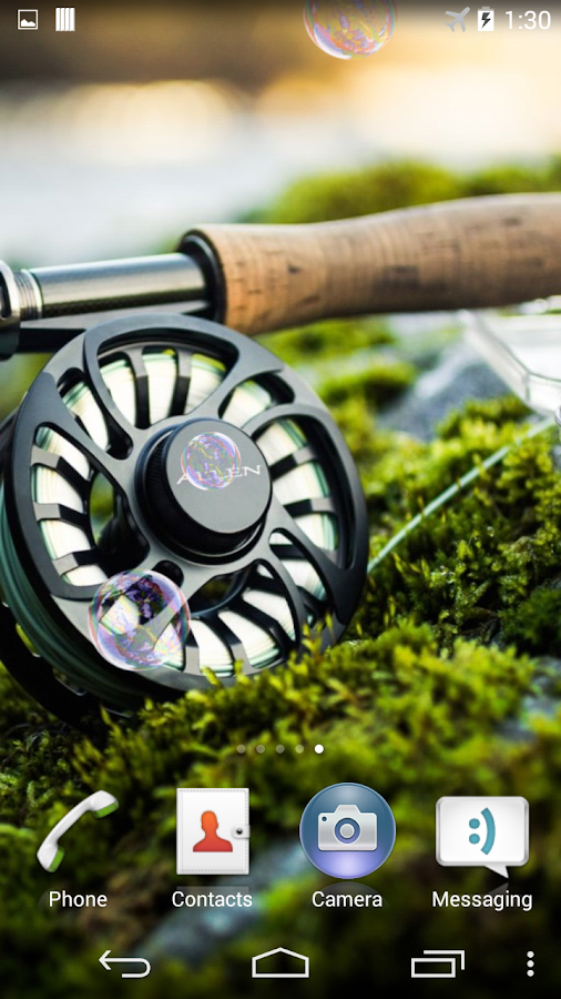 Fly fishing live wallpaper android apps on google play fly fishing live wallpaper screenshot voltagebd Image collections