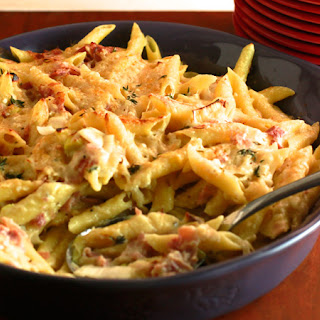 Mac & Cheese with Leeks and Ham Recipe