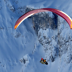 FLYING ON SNOW by Riccardo Schiavo - Sports & Fitness Other Sports