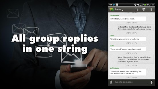 Group Texting + Text Messaging - screenshot thumbnail
