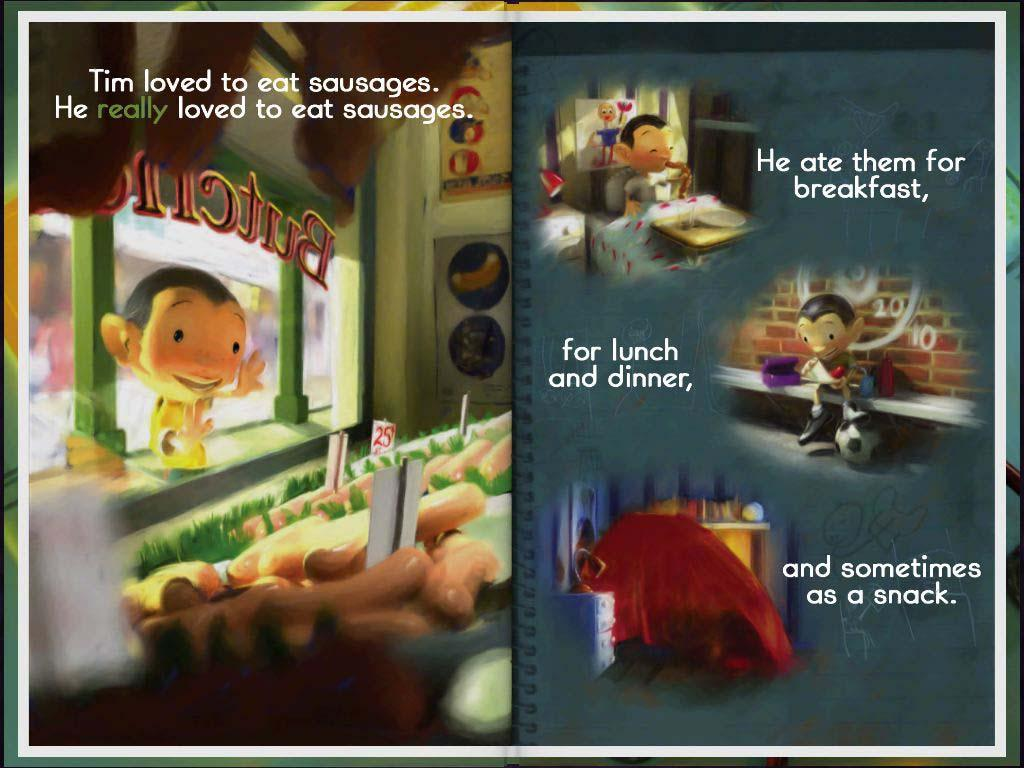 Food Fight! Children's Book - screenshot