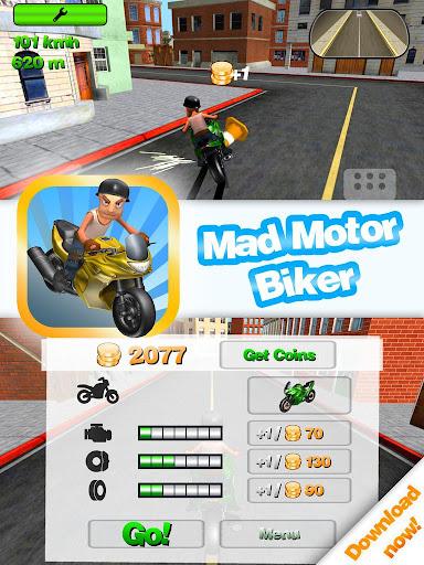Mad Motor Biker
