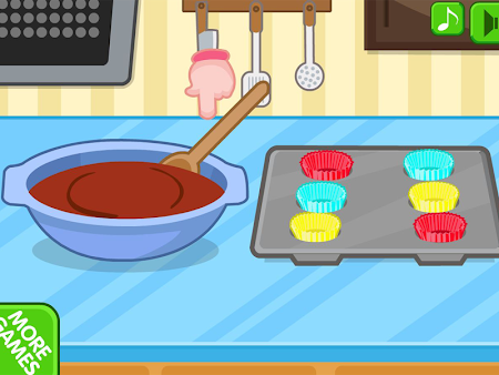 Chocolate cupcake maker 1.0.8 screenshot 560513