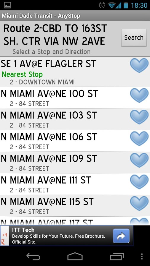 Miami Dade Transit: AnyStop - screenshot
