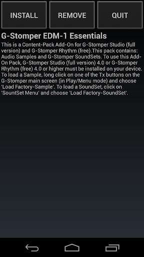 G-Stomper EDM-1 Essentials