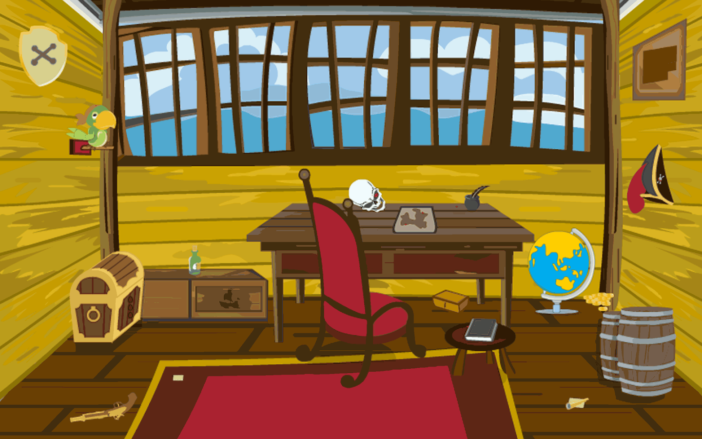 Escape games puzzle pirate 1 android apps on google play for Escape puzzle