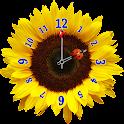 Flower Clock Widget icon