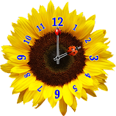 Flower Clock Widget