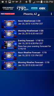 FOX 10 Weather - screenshot thumbnail