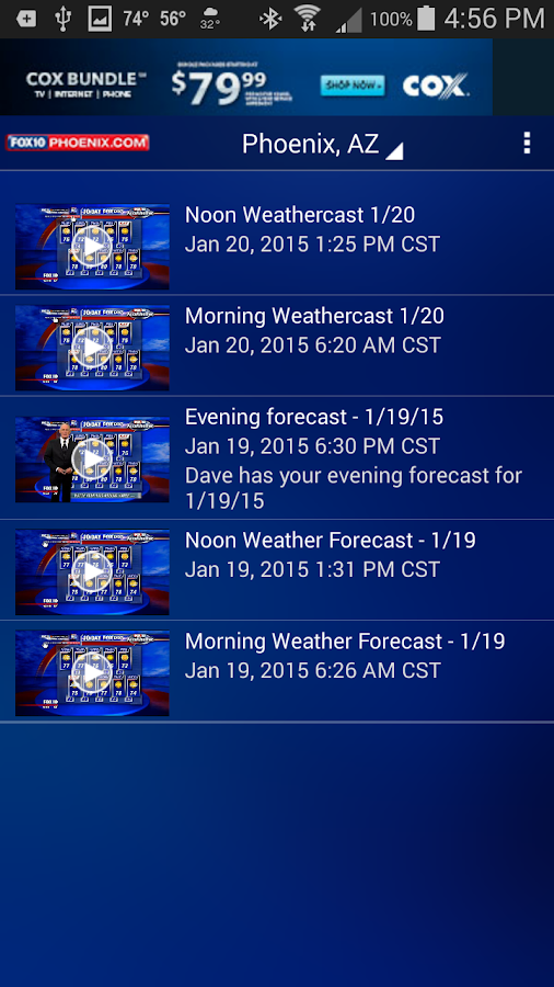 FOX 10 Weather - screenshot