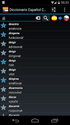 Spanish Czech Dictionary