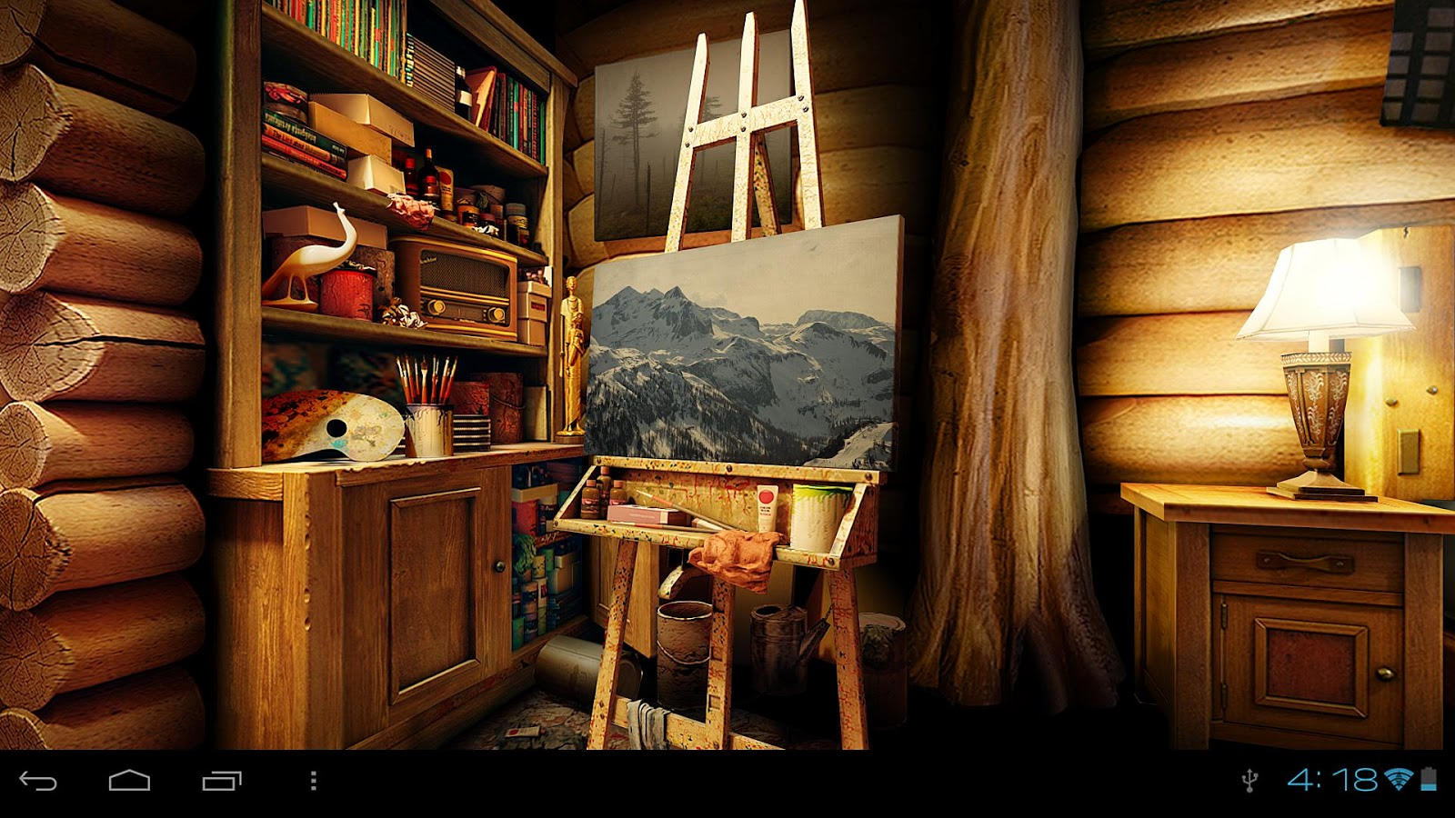 My Log Home 3d Live Wallpaper Google Play 39 De Android