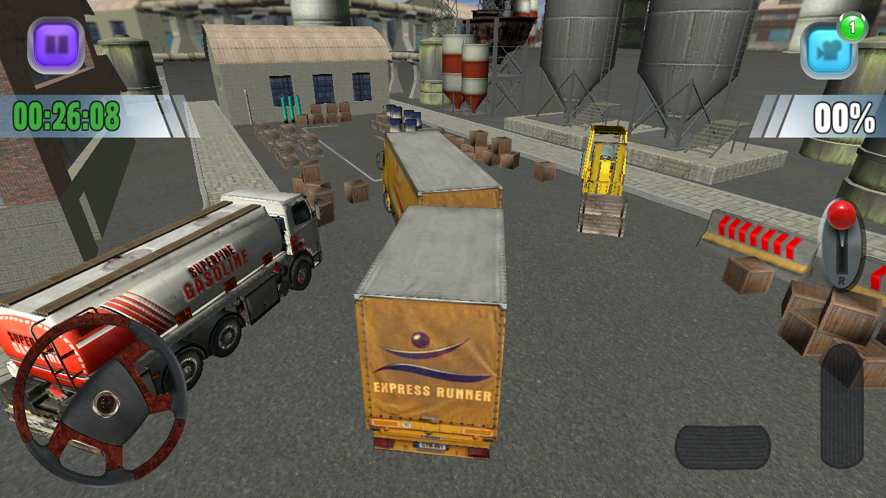 Truck Sim 3D Parking Simulator- screenshot