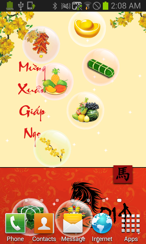 Tết Giáp Ngọ Live Wallpaper - screenshot