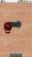Screenshot of Burning Skull Wallpaper