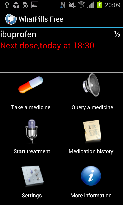 NFC Talking Pill Reminder- screenshot
