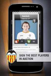 Valencia CF FantasyManager '14 - screenshot thumbnail