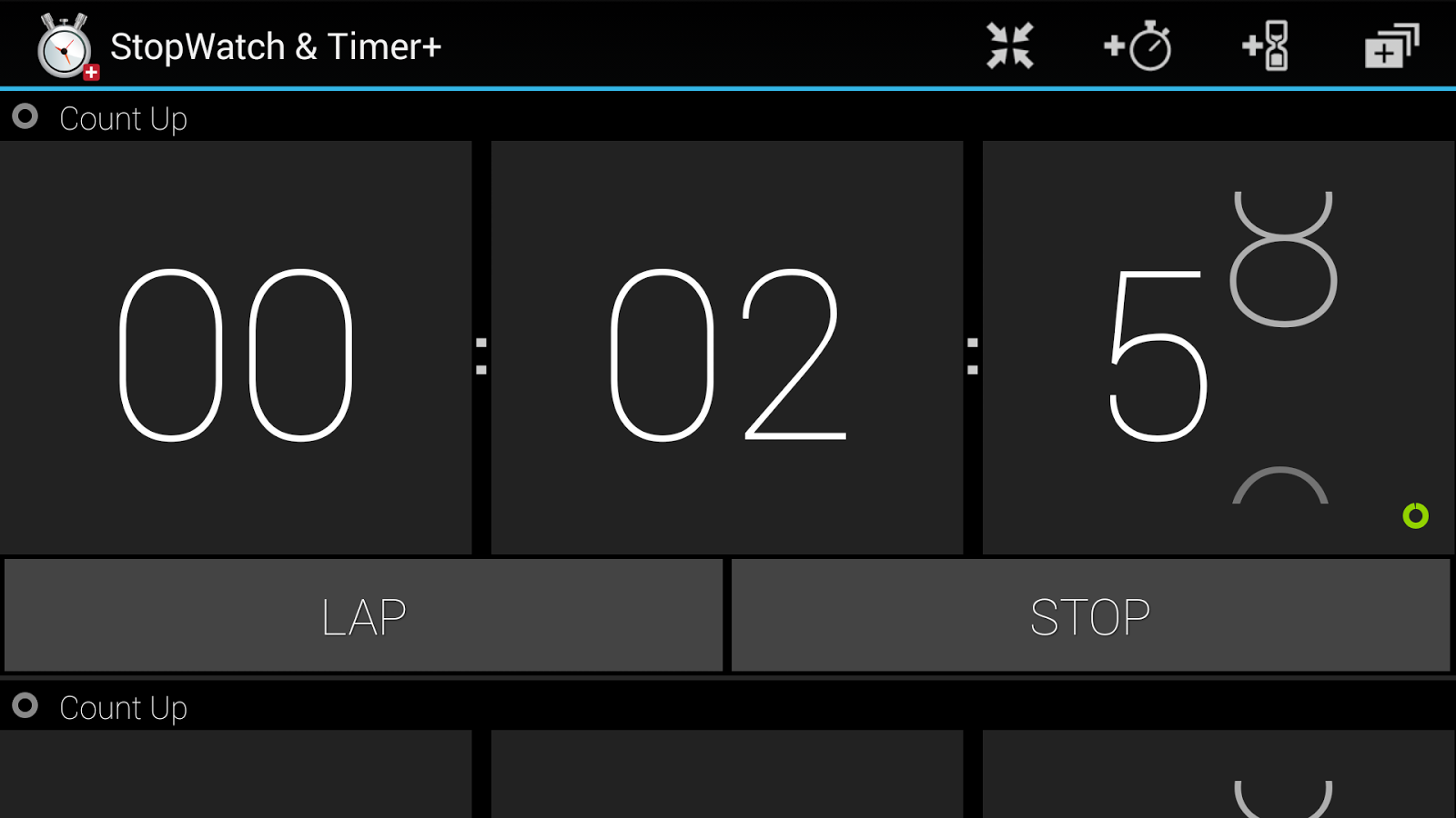 StopWatch & Timer+ - screenshot