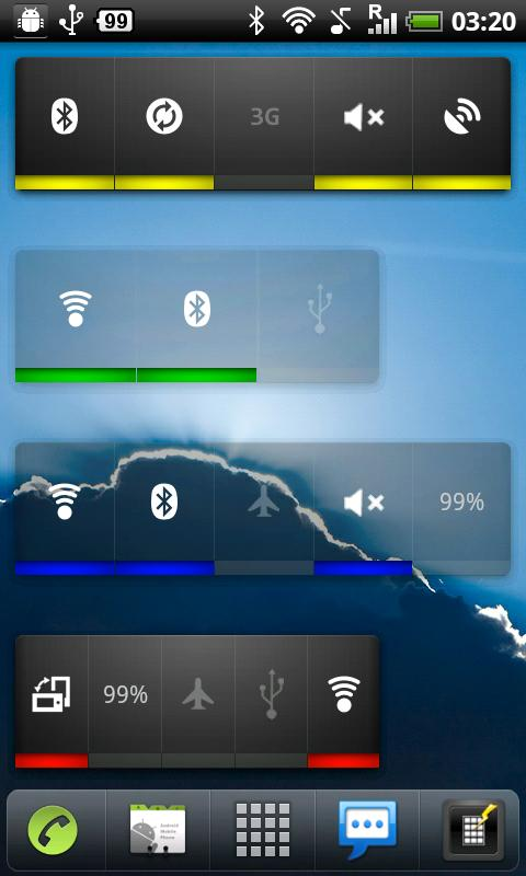 Power Widget lite- screenshot