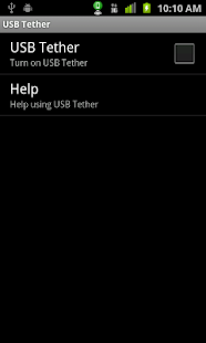 Wifi Hotspot & USB Tether Lite - screenshot thumbnail