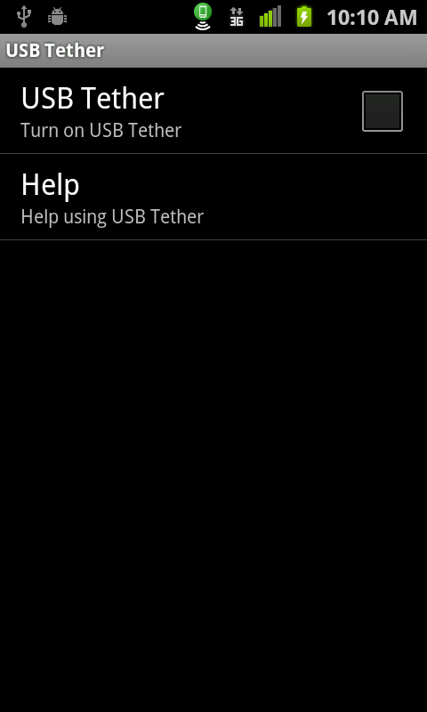 Wifi Hotspot & USB Tether Lite - screenshot