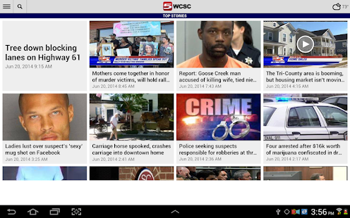 WCSC Live 5 News - screenshot thumbnail
