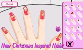 Screenshot of A-List Girl ★ Christmas Nails