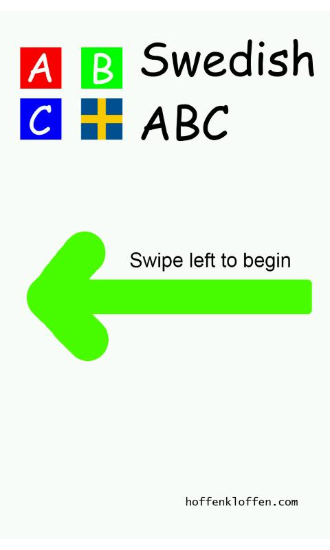 Swedish ABC BabyMoz - screenshot