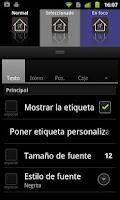 Screenshot of Lightning Launcher - Español