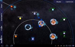 Screenshot of Galaxy War: Star Colony Wars