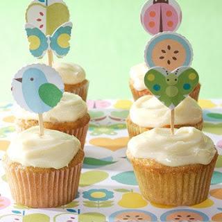 Carrot-Cake Mini Cupcakes.